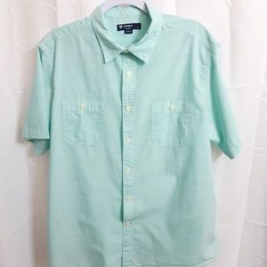 Cremieux Short Sleeve Button Up Shirt